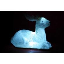 Renna Luminosa decorazione Natalizia con illuminata