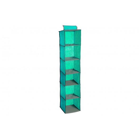 Portaoggetti organaizer in tessuto verde