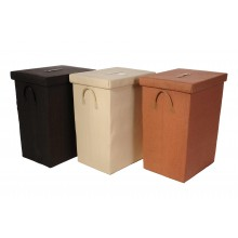 Set 3 cestini portatutto rettangolari