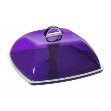 Contenitore porta formaggio da frigorifero e tavola viola