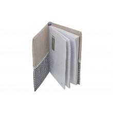 Libro di ricette, quaderno per annotare le proprie ricette interno