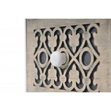 Mobiletto cassettiera portatutto 3 cassetti bianco cassetto scuro