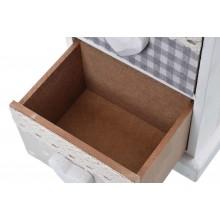 Mobiletto cassettiera portatutto 3 cassetti bianco cassetto dettaglio